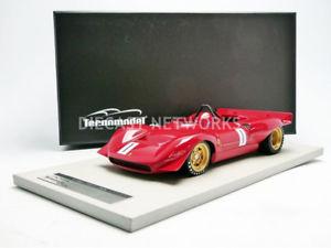 【送料無料】模型車 モデルカー スポーツカーミトスフェラーリtecnomodel mythos 118 ferrari 212 e winner rossfeld 1969 tm1837b