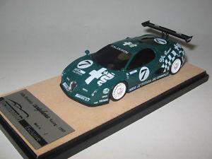 【送料無料】模型車 モデルカー スポーツカーアルファロメオグリーンレーシングtecnomodel tex60c alfa romeo scighera, green racing press 1997 cars, resin 143