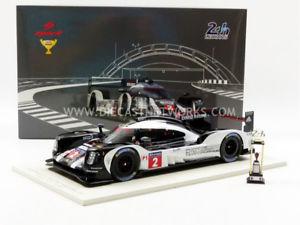 【送料無料】模型車 モデルカー スポーツカースパークポルシェハイブリッドルマンspark 118 porsche 919 hybrid lmp1 winner le mans 2016 18lm16