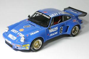 【送料無料】模型車 モデルカー スポーツカーポルシェカレラジーンズ#ニュルブルクリンクスパークporsche 911 carrera rsr 30 wallys jeans 6 nurburgring 1974 spark 118 s18s088