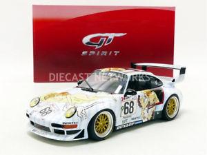 【送料無料】模型車 モデルカー スポーツカーグアテマラポルシェルマンgt spirit 118 porsche 911 993 gt2 le mans 1998 gt729
