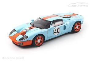 【送料無料】模型車 モデルカー スポーツカーフォード#ford gt lmgulfdesign 40 autoart 118 80513