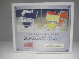 【送料無料】模型車 モデルカー スポーツカースケールドニーシャッツパーカーノックスビルスプリントカー118 scale ramp;r donny schatz parker store knoxville win 2006 sprint car