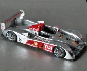 【送料無料】模型車 モデルカー スポーツカールマンミニチュアアウディle mans miniatures audi r10 tdi 7 or 8 sold rise