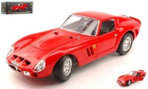 【送料無料】模型車 モデルカー スポーツカーフェラーリオリジナルモデルjm 2144543 bburago bu16602 ferrari 250 gto 1962 red original 118 model