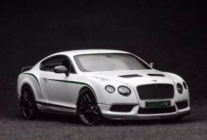 【送料無料】模型車 モデルカー スポーツカーリアルタイムベントレーコンチネンタルホワイトalmost real bentley continental gt3r 2015 white 118