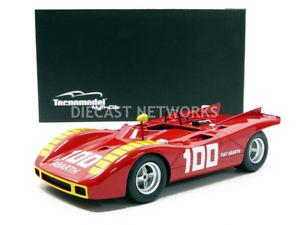 【送料無料】模型車 モデルカー スポーツカーミトスアバルトコッパチッタディエンナtecnomodel mythos 118 abarth 2000 sp coppa citta di enna 1970 tm1859c