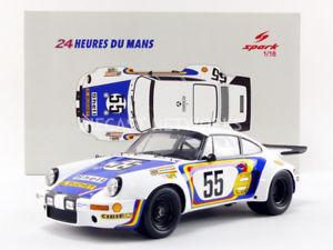 【送料無料】模型車 モデルカー スポーツカースパークポルシェルマンspark 118 porsche 911 rsr 30 le mans 1975 18s289