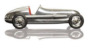 【送料無料】模型車 モデルカー スポーツカーモデルシルバーアローアルミシートauthentic models silver arrow aluminiumredsilver red arrow seat