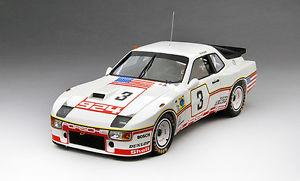【送料無料】模型車 モデルカー スポーツカースケールポルシェグアテマラ#ポルシェシステムルマンtrue scale porsche 924 gt 3 porsche system le mans 1980 118