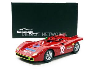 【送料無料】模型車 モデルカー スポーツカーミトスアバルトタルガフロリオtecnomodel mythos 118 abarth 2000 sp targa florio 1971 tm1859b
