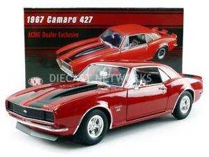 【送料無料】模型車 モデルカー スポーツカーシボレーカマロacme 118 chevrolet camaro 427 1967 1805711