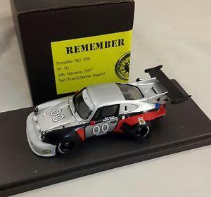 【送料無料】模型車 モデルカー スポーツカーポルシェターボ#デイトナlt; porsche 911 rsr turbo 00 imsa daytona 1977hand built remembers 143
