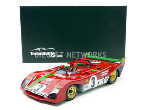 【送料無料】模型車 モデルカー スポーツカーミトスフェラーリタルガフロリオtecnomodel mythos 118 ferrari 312 pbwinner targa florio 1972tm1862d