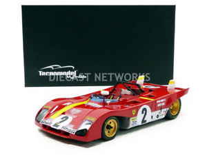 【送料無料】模型車 モデルカー スポーツカーミトスフェラーリデイトナtecnomodel mythos 118 ferrari 312 pb winner daytona 1972 tm1861b