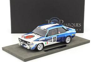 【送料無料】模型車 モデルカー スポーツカーフィアットアバルト#モンテカルロラリーfiat 131 abarth 10 winner monte carlo rally 1980 rhrl, geistdrfer 118