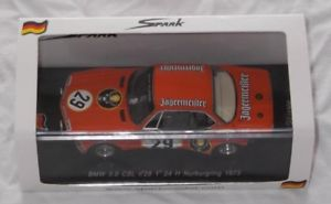 【送料無料】模型車 モデルカー スポーツカースパークアルピナラウダニュルブルクリンクイェーガーマイスターspark 143 alpina bmw 30 csl lauda joisten 24h nrburgring 1973 jgermeister