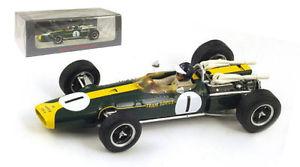 【送料無料】模型車 モデルカー スポーツカースパークロータス#グランプリジムクラークスケールspark s2143 lotus 43 brm 1 winner us gp 1966 jim clark 143 scale