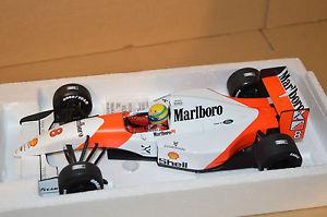 【送料無料】模型車 モデルカー スポーツカーアイルトンセナマクラーレンブランディング1993 ayrton senna mclaren mp48 tobacco branding 118