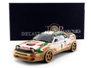 【送料無料】模型車 モデルカー スポーツカートップマルケストヨタセリカラリーサンレモtop marques collectibles 118 toyota celica gt4winner rally san remo 1994