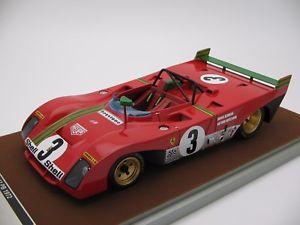 【送料無料】模型車 モデルカー スポーツカースケールフェラーリスパキロ118 scale tecnomodel ferrari 312pb spa 1000km 1972 tm1862e