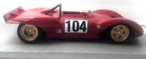 【送料無料】模型車 モデルカー スポーツカーフェラーリディノ#ferrari dino 212e 104 winner montseny 1969 pschetty tecnomodel 118 tm1837e m