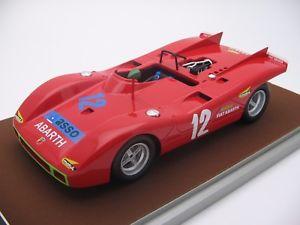 【送料無料】模型車 モデルカー スポーツカースケールアバルトタルガフローリオ118 scale tecnomodel abarth 2000sp targa florio 1971 tm1859b