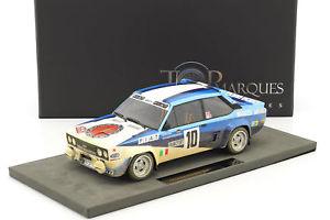 【送料無料】模型車 モデルカー スポーツカーフィアットアバルトバージョン#モンテカルロラリー?fiat 131 abarth dirty version 10 winner monte carlo rally 1980 rhrl, geistd