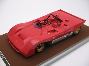 【送料無料】模型車 モデルカー スポーツカースケールフェラーリ118 scale tecnomodel ferrari 312pb press 1972 tm1861a