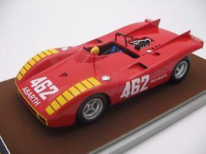 【送料無料】模型車 モデルカー スポーツカースケールアバルト118 scale tecnomodel abarth 2000sp sstriere gp 1970 tm1859e