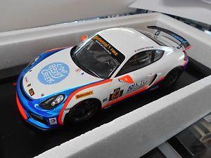 【送料無料】模型車 モデルカー スポーツカーポルシェケイマングアテマラレース#チームスパークporsche cayman gt4 racing clubsport 64 team tgm spark resin 118