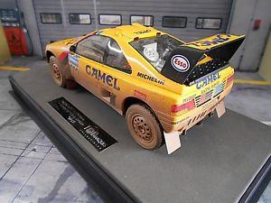 送料無料 模型車 モデルカー スポーツカープジョーパリダカールバタネントップマルケスpeugeot 405 gt t16 paqSGLUzpMV