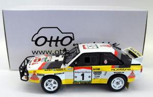 【送料無料】模型車 モデルカー スポーツカーオットースケールモデルカーアウディクワトロスポーツラリーサファリotto 118 scale resin model car ot253 audi quattro sport gr b e2 rally safari