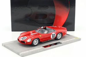 【送料無料】模型車 モデルカー スポーツカーフェラーリ#ルマンferrari 250 tr61 10 winner 24h lemans 1961 gendebien, hill 118 bbr