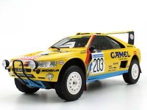【送料無料】模型車 モデルカー スポーツカートップマルケスプジョー#バタネンダカールtop marques peugeot 405 gt t16 203 vatanenberglund dakar winner 1990 118