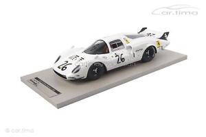 【送料無料】模型車 モデルカー スポーツカーフェラーリホワイトエレファント#ルマンferrari 365 p2 white elephant 26 24h le mans 1967 1 of 250 tecnomodel 1