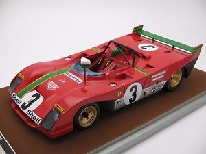 【送料無料】模型車 モデルカー スポーツカースケールフェラーリタルガフローリオ118 scale tecnomodel ferrari 312pb targa florio 1972 tm1862d