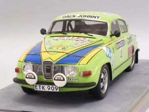 【送料無料】模型車 モデルカー スポーツカー#スウェーデンラリーsaab 96 v4 4 winner rally sweden 1976 eklund 118 tecnomodel tm1880d
