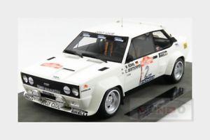 【送料無料】模型車 モデルカー スポーツカーフィアットアバルト#ラリーサンレモトップfiat 131 abarth 2 winner rally sanremo 1980 wrohrl topmarques 118 top043d mod