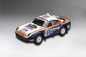 【送料無料】模型車 モデルカー スポーツカーポルシェパリダカール#porsche 959 911 rallye raid paris dakar metge 186 1986 rare winner tsm rar 118