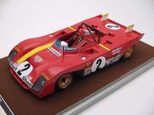 【送料無料】模型車 モデルカー スポーツカースケールフェラーリデイトナ118 scale tecnomodel ferrari 312pb daytona 24 winner 1972 tm1861b