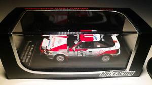 【送料無料】模型車 モデルカー スポーツカートヨタセリカグアテマラサファリラリーhpi 143 toyota celica gtfour 1990 safari rally winner