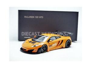 【送料無料】模型車 モデルカー スポーツカーマクラーレンオレンジプレゼンテーションautoart 118 mclaren mp412c gt3orange 81340 presentation