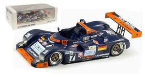 【送料無料】模型車 モデルカー スポーツカースパークタワーポルシェ#ルマンスケールspark 43lm96 twr porsche wsc 7 le mans winner 1996 143 scale