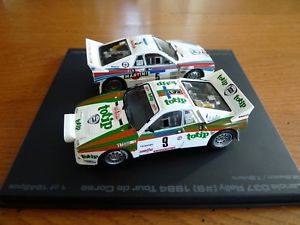 【送料無料】模型車 モデルカー スポーツカーランチアボックス143 hpi lancia 037 box