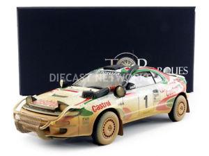 【送料無料】模型車 モデルカー スポーツカートップマルケストヨタセリカラリーtop marques collectibles 118 toyota celica gt4winner rally safary 1993