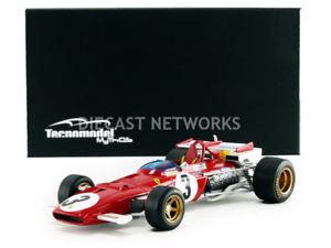 【送料無料】模型車 モデルカー スポーツカーミトスフェラーリtecnomodel mythos 118 ferrari 312b f1 winner gp mexique 1970tm1864d