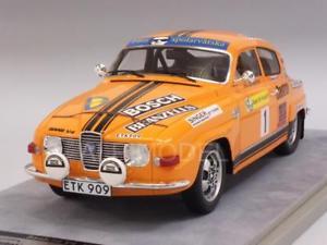 【送料無料】模型車 モデルカー スポーツカー#ラリースウェーデンsaab 96 v4 1 rally sweden 1975 fao 118 tecnomodel tm1880c