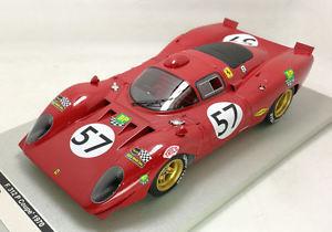 【送料無料】模型車 モデルカー スポーツカーフェラーリ#ルマンコミックパーソンズイムモデルferrari 312 p 57 nc le mans 1970 t comicsc parsons lim100 118 model