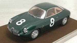 【送料無料】模型車 モデルカー スポーツカーアルファロメオ#リタイヤタルガフローリオalfa romeo giulietta sz 8 dnf targa florio 1961 of priolomanfredini 118
